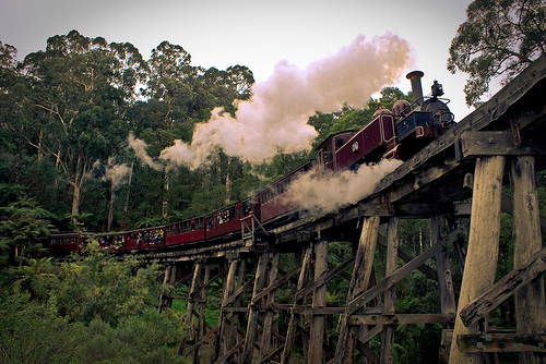 Puffing Billy and what's wrong with Australian tourism